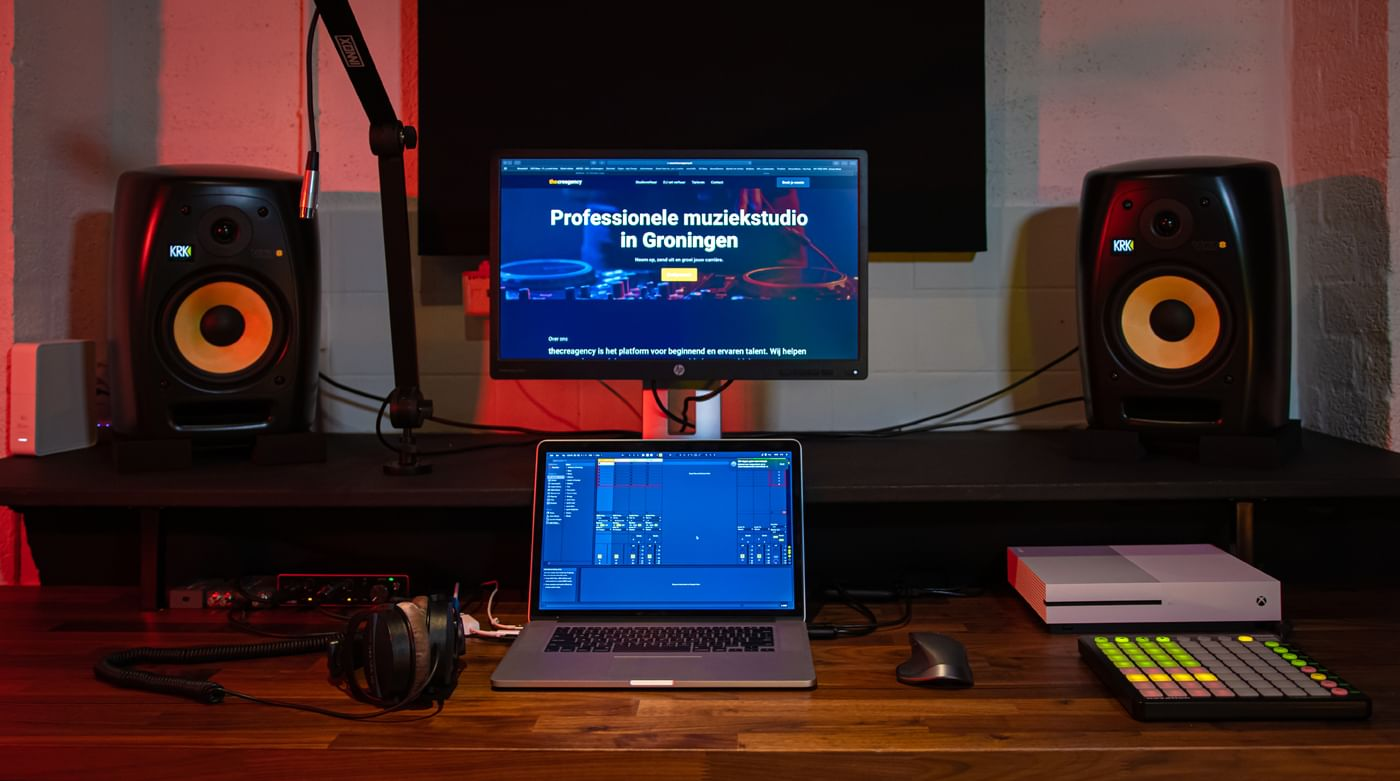 volledige-muziek-productie-setup
