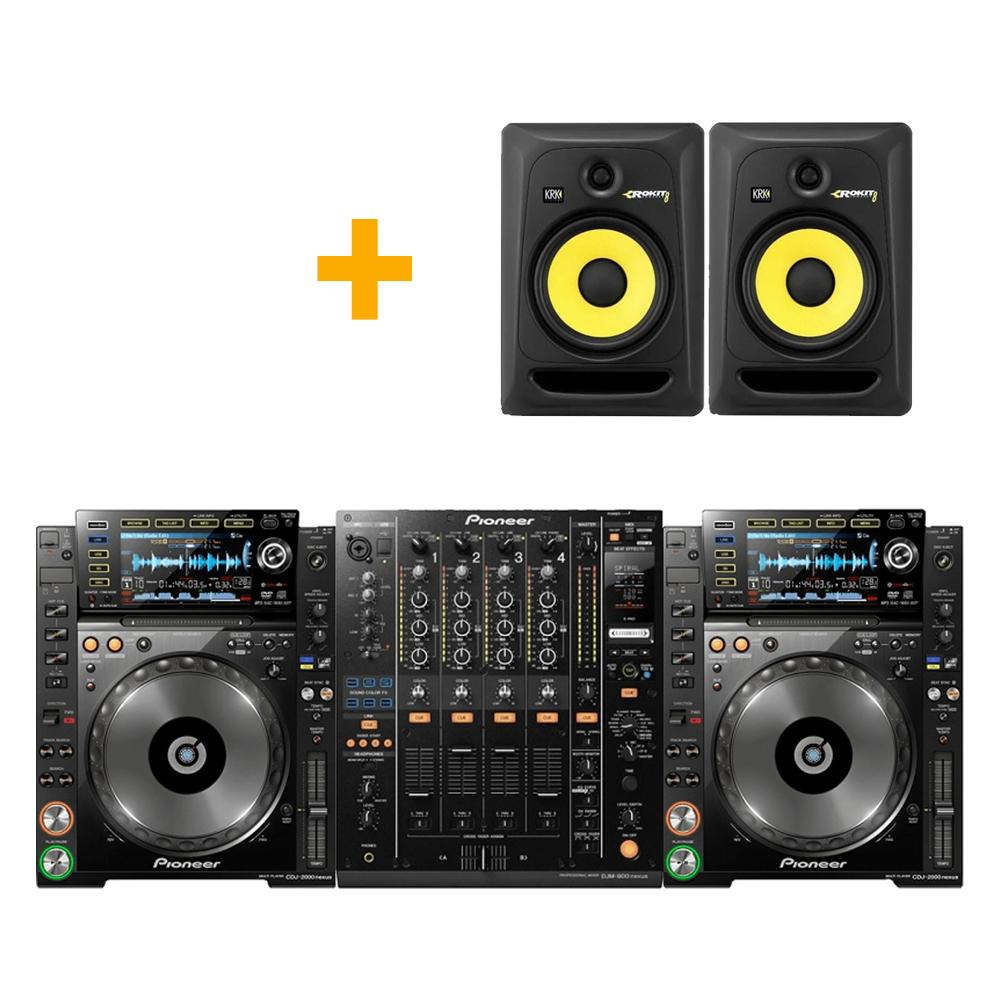 Pioneer Nexus + speakers