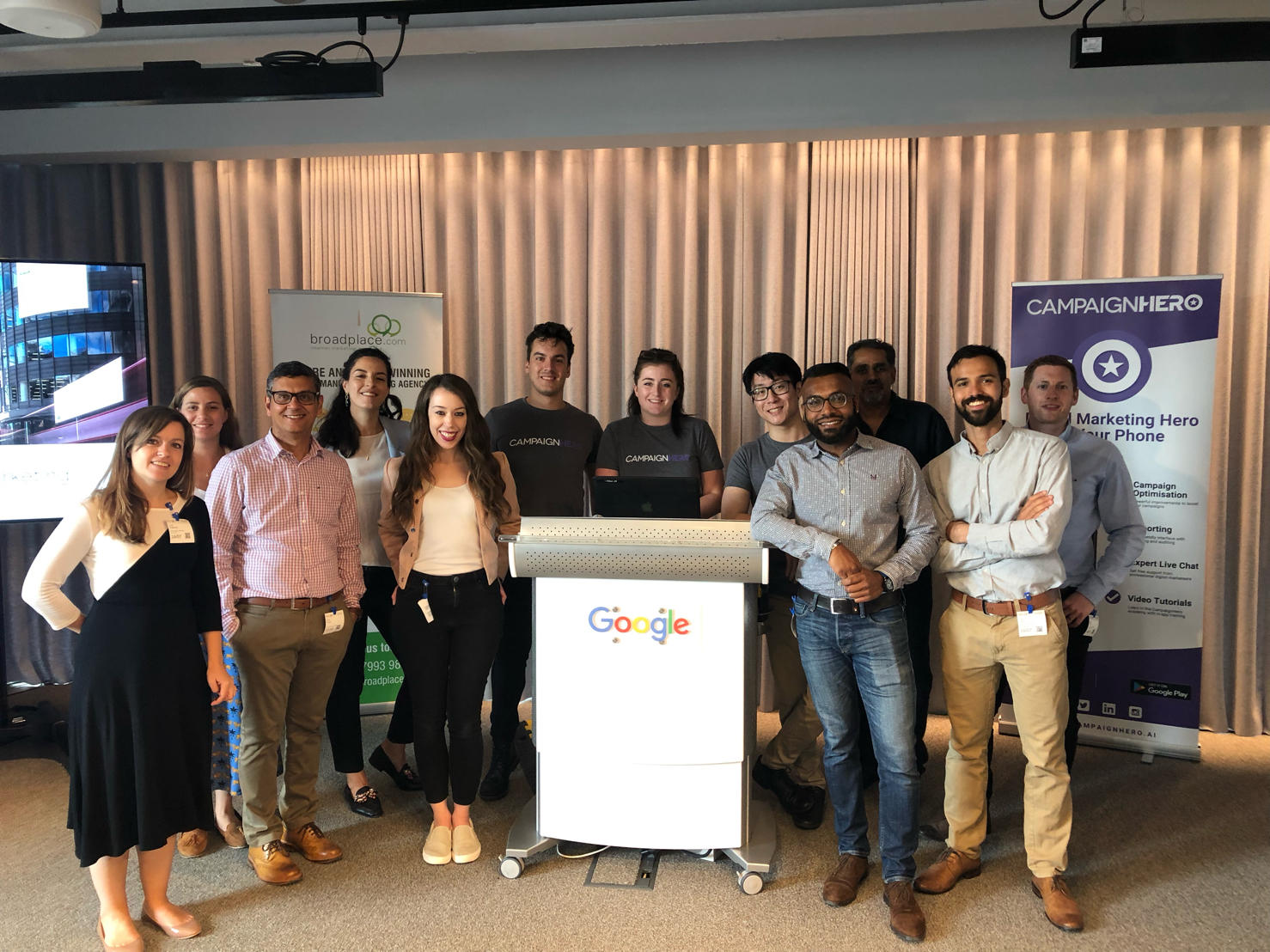 Starling, CampaignHero and Google Small Business Event