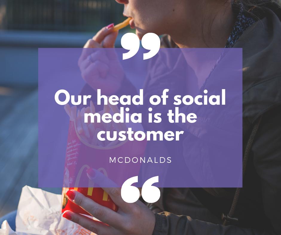 Consumer Focused Marketing Quote