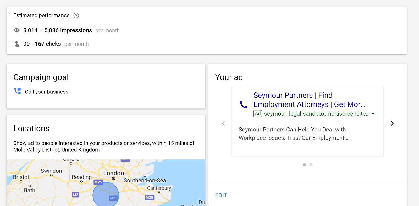 Google Ads Smart Campaign - Step 17