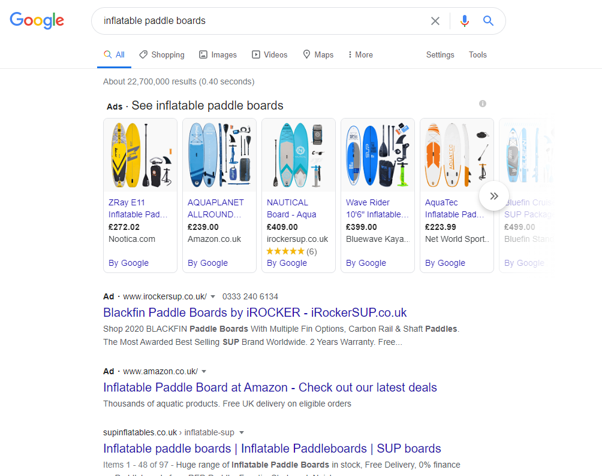Google Shopping Ads Examples
