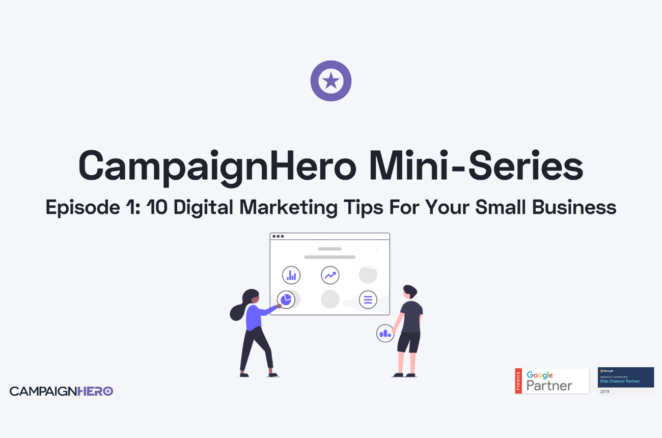 Episode 1: 10 Digital Marketing Tips For Small Businesses