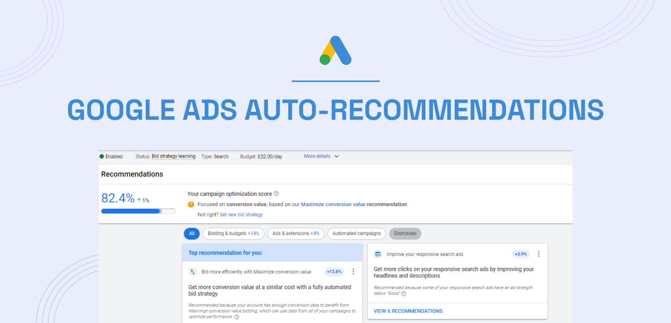 Google Ads Auto-Recommendations