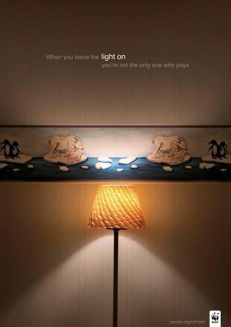 Light On Digital Advertising Campaign By WWF