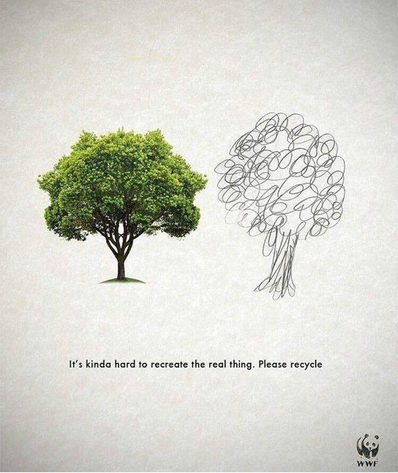 Recycle Digital Advertising Campaign by WWF