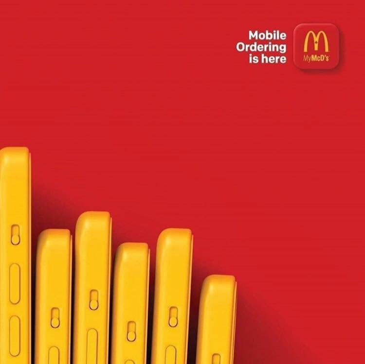 Mobile Ordering Digital Advertising Campaign McDonalds