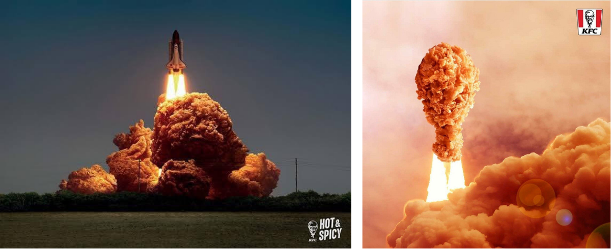 Chicken Launching Digital Advertising Campaign KFC