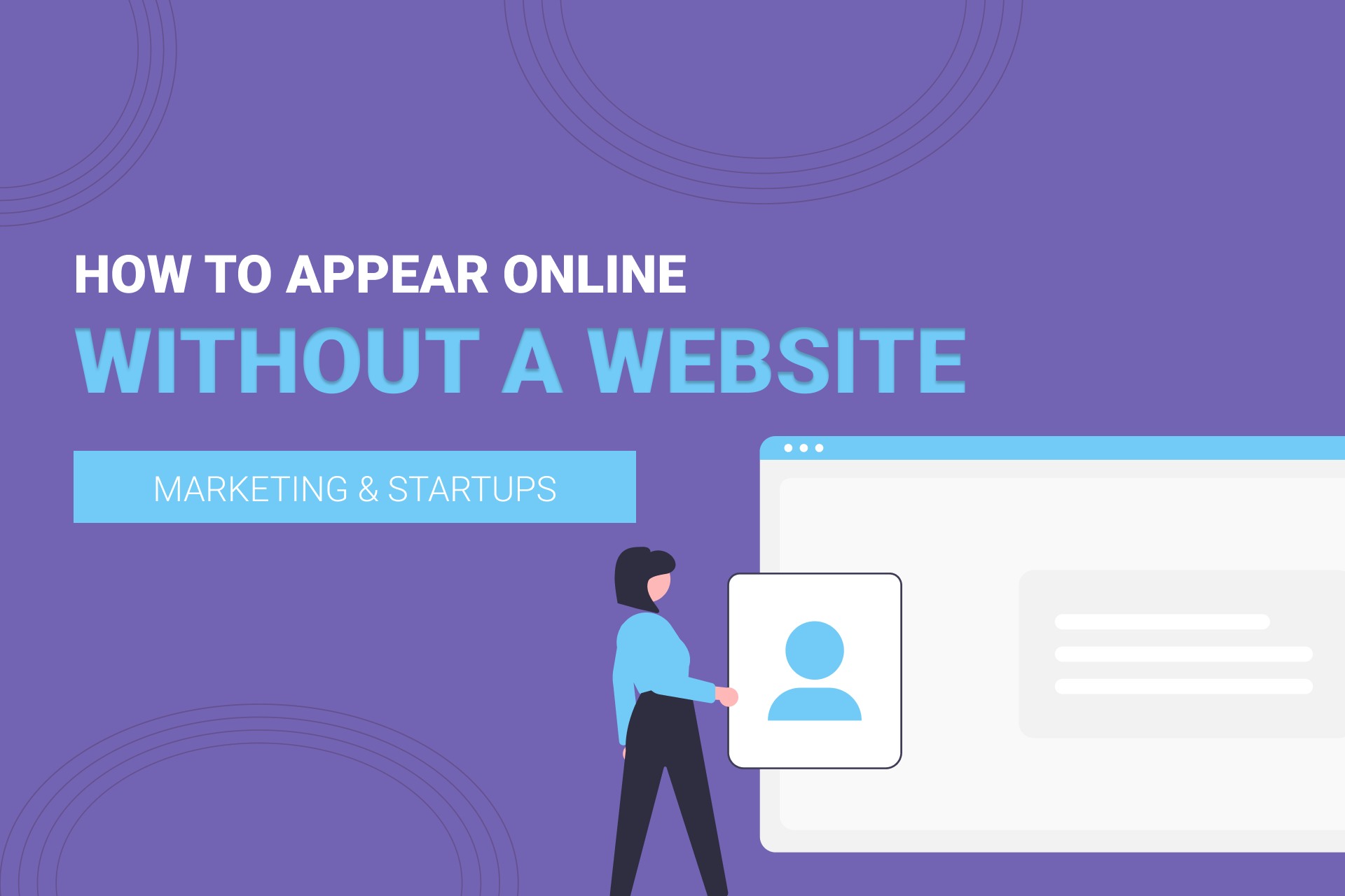 4 Alternatives For Small Businesses Without A Website