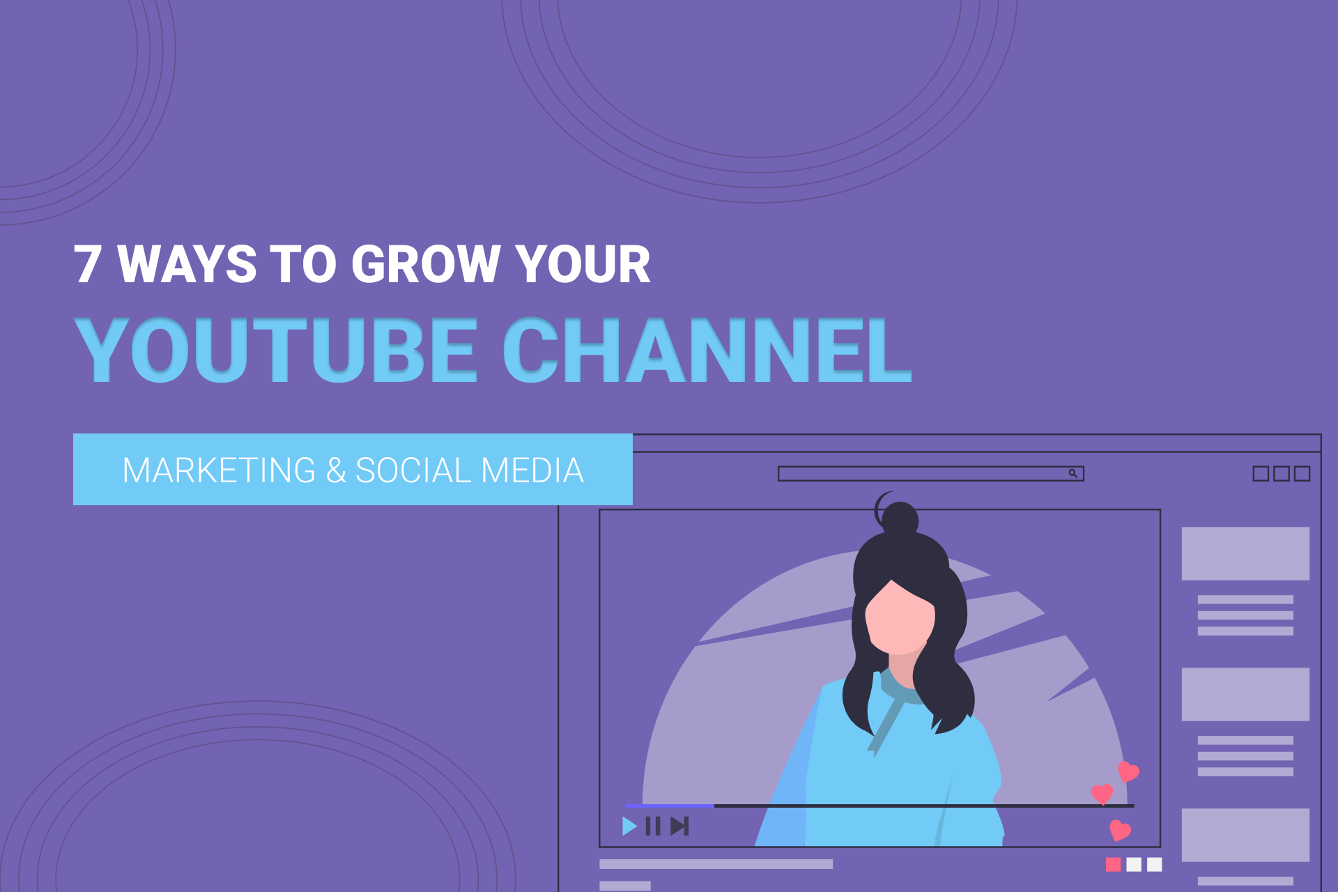 7 Ways To Grow Your YouTube Channel