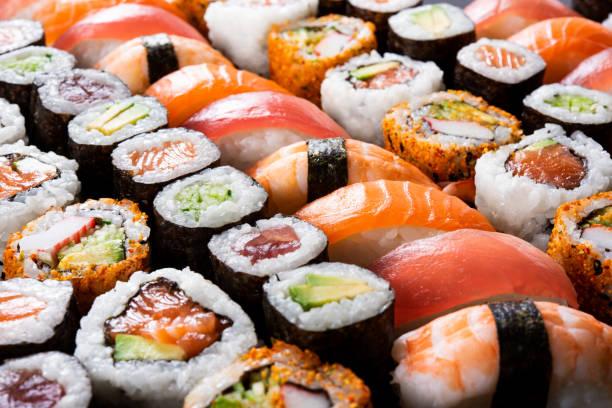 Foto van heerlijke sushi