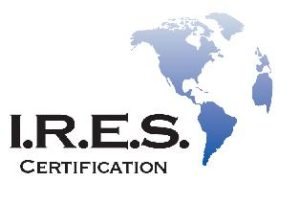 I.R.E.S. Certification Logo