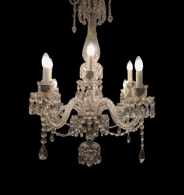 Georgian Style  Crystal Chandelier