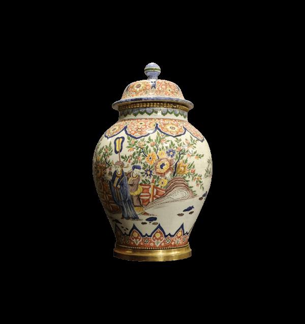 20th Century Chinese lidded Pot