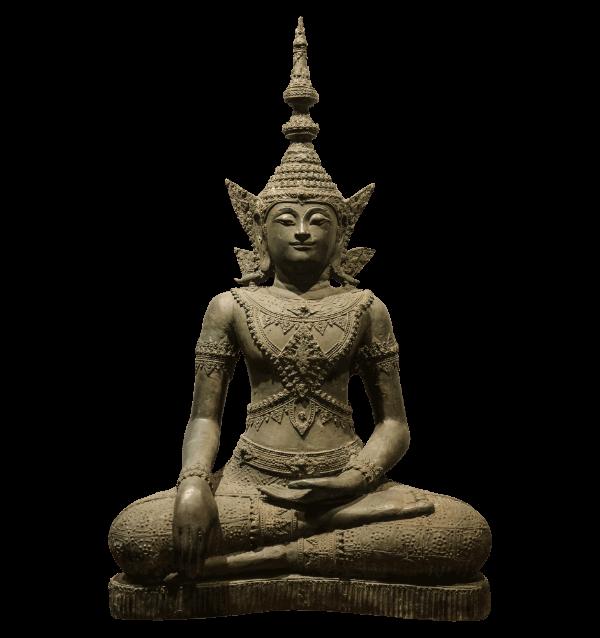 19th Century Bronze thai Buddha