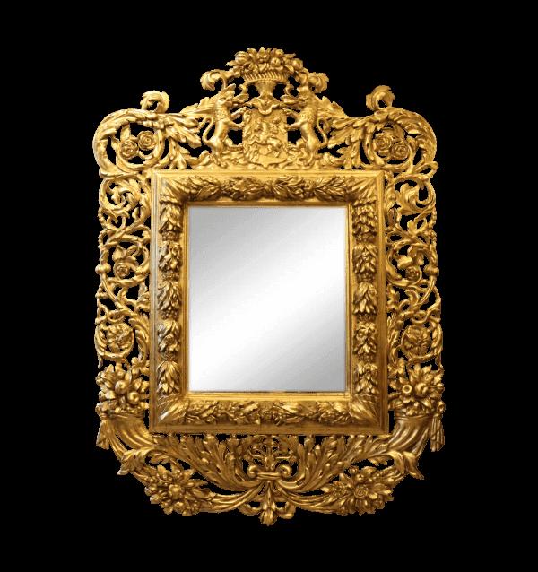 18th century Italian Florentine Giltwood Mirror