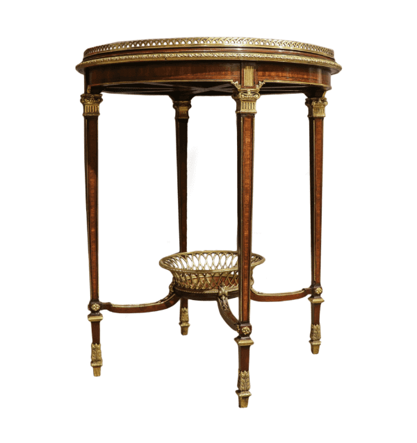 19th century French Mellier and co table
