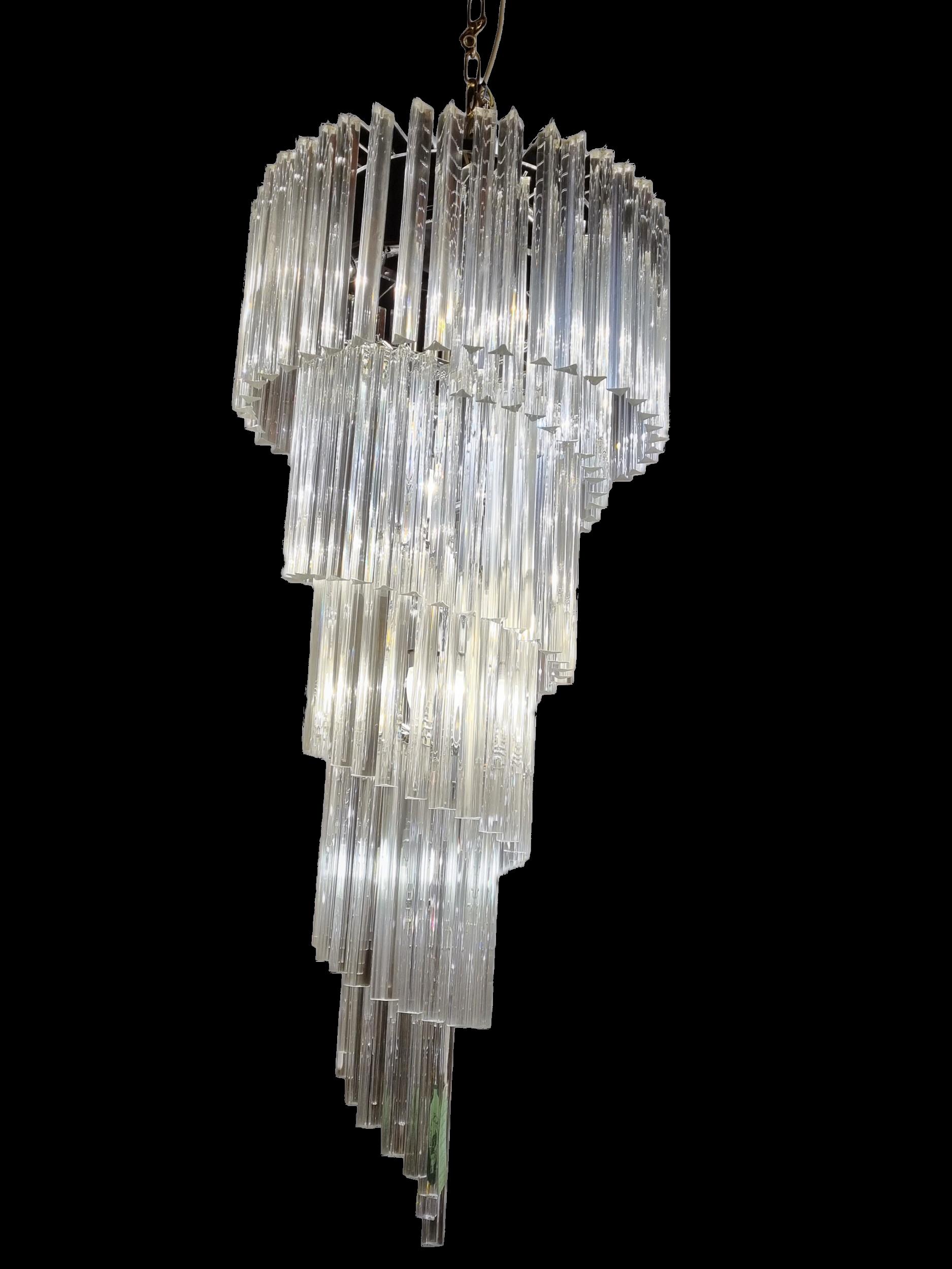 Crystal Waterfall Chandelier