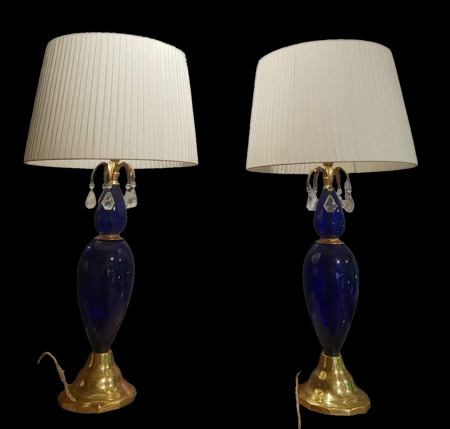 Pair of C1950s Russian Table Lamps