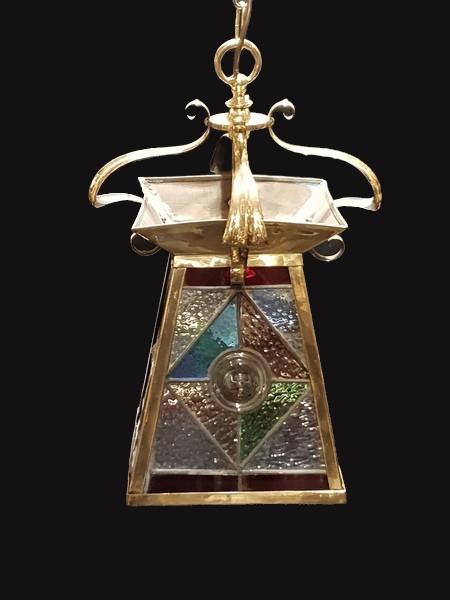 Arts and Craft brass Lantern
