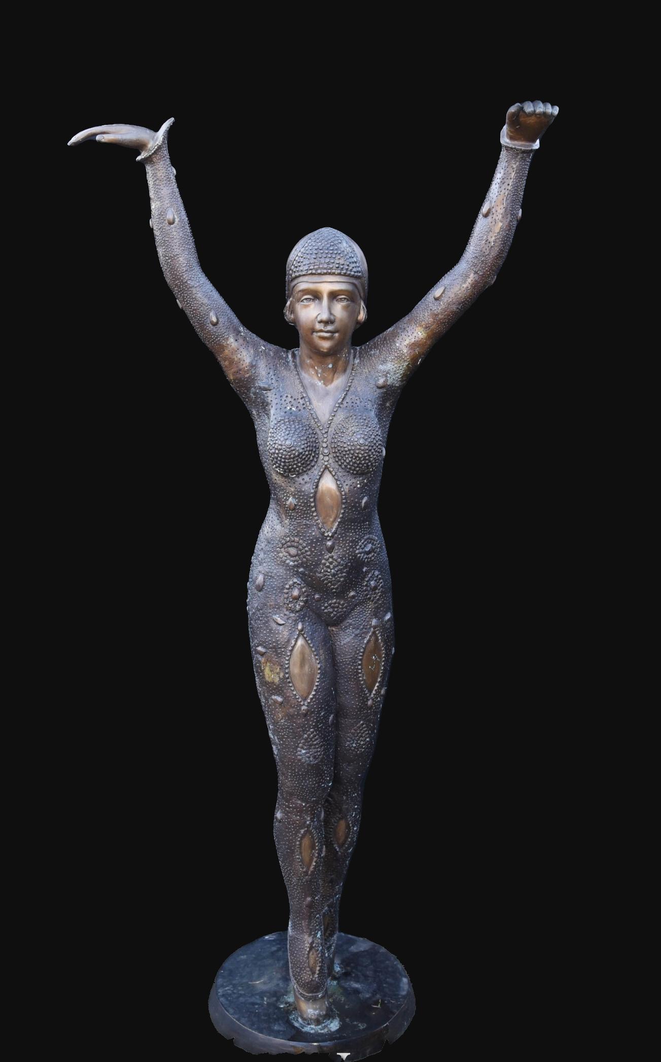 Bronze Sculpture of a Ballerina