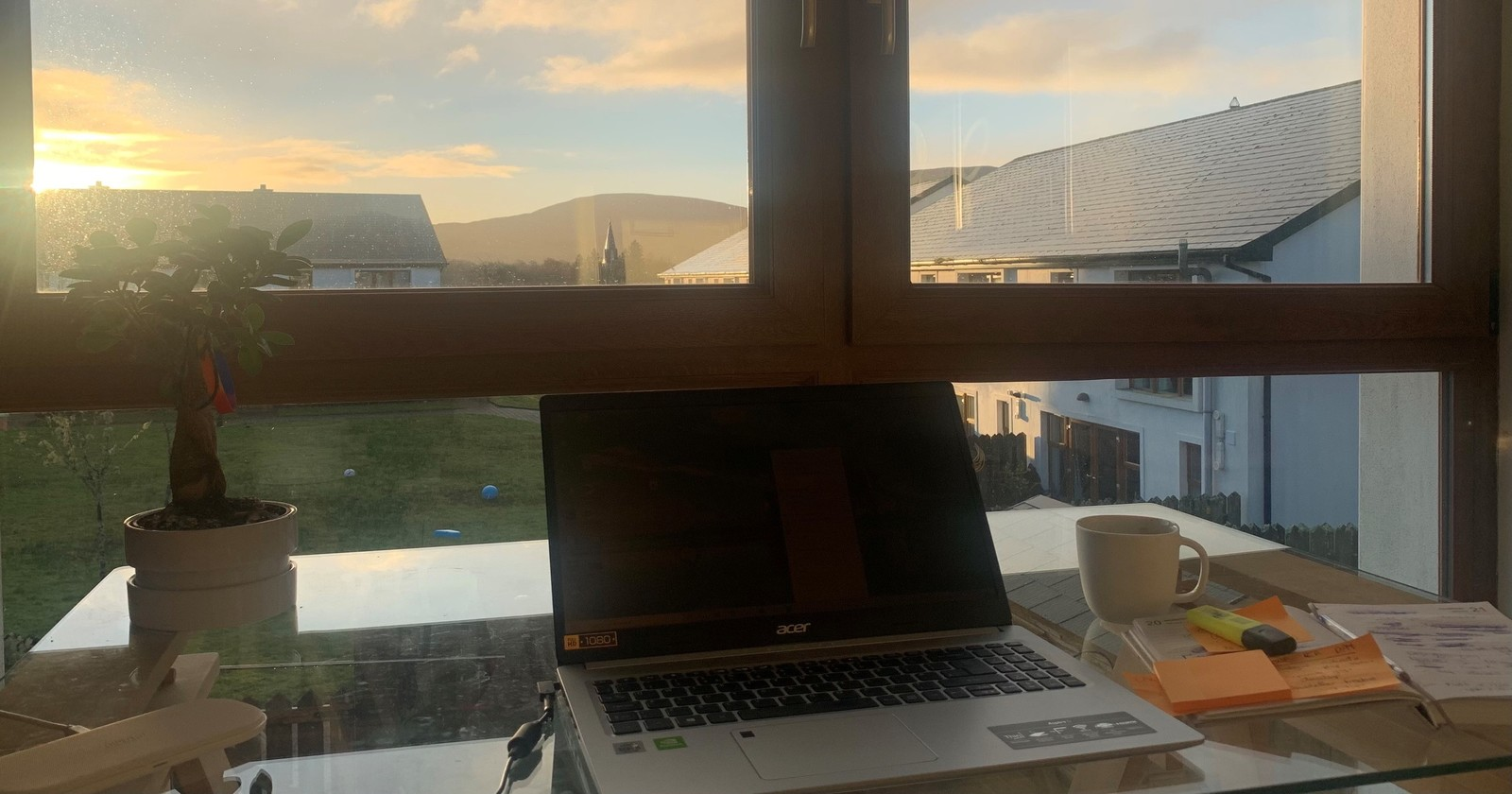 Jamie O'Connell Writing Desk Dawn Kenmare Kerry