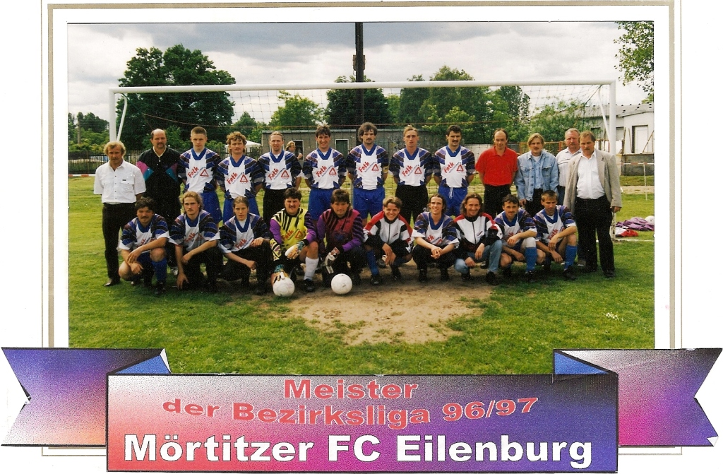 Mörtitzer FC Eilenburg Bezirksmeister 1997
