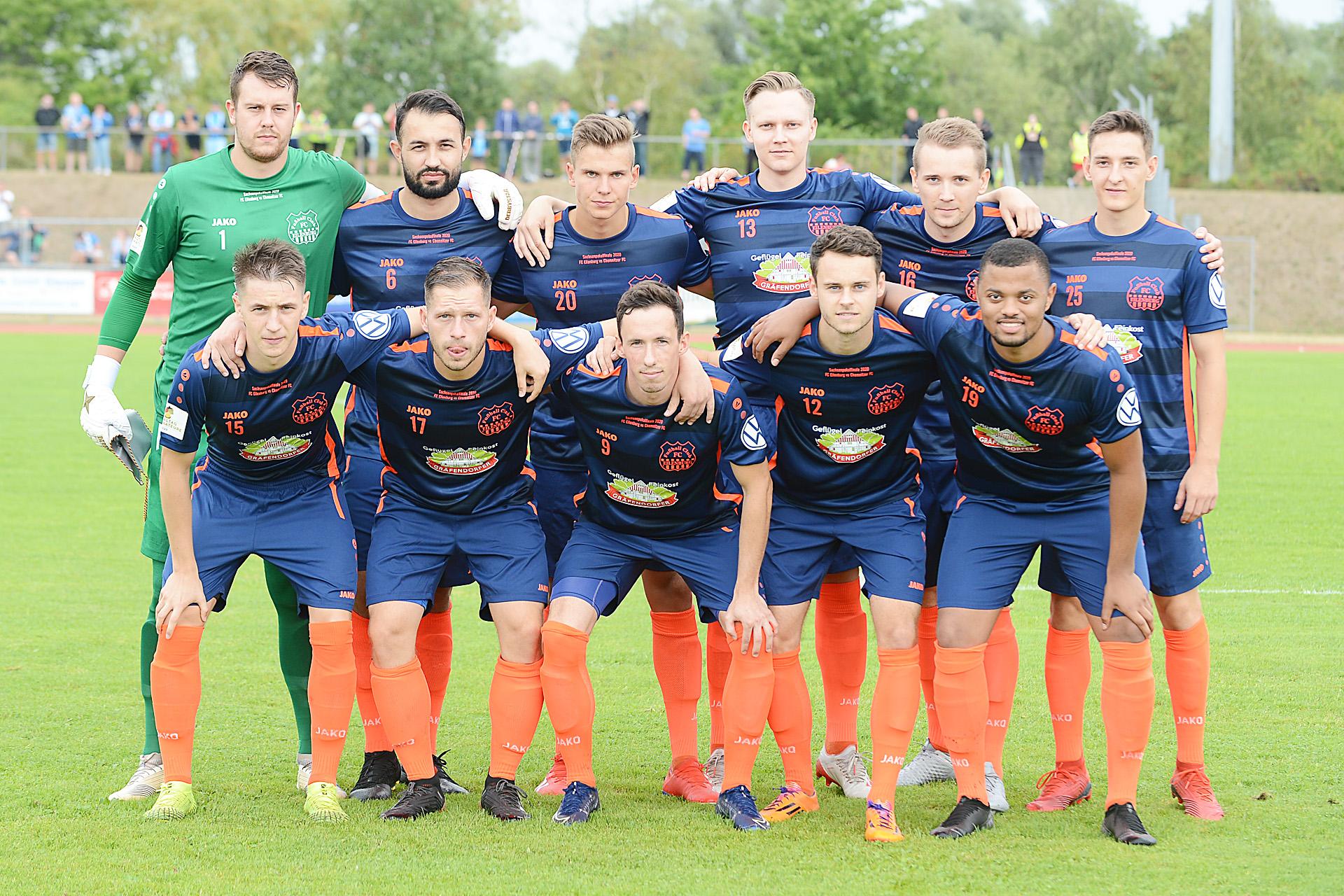 FC Eilenburg Finalaufstellung 2020