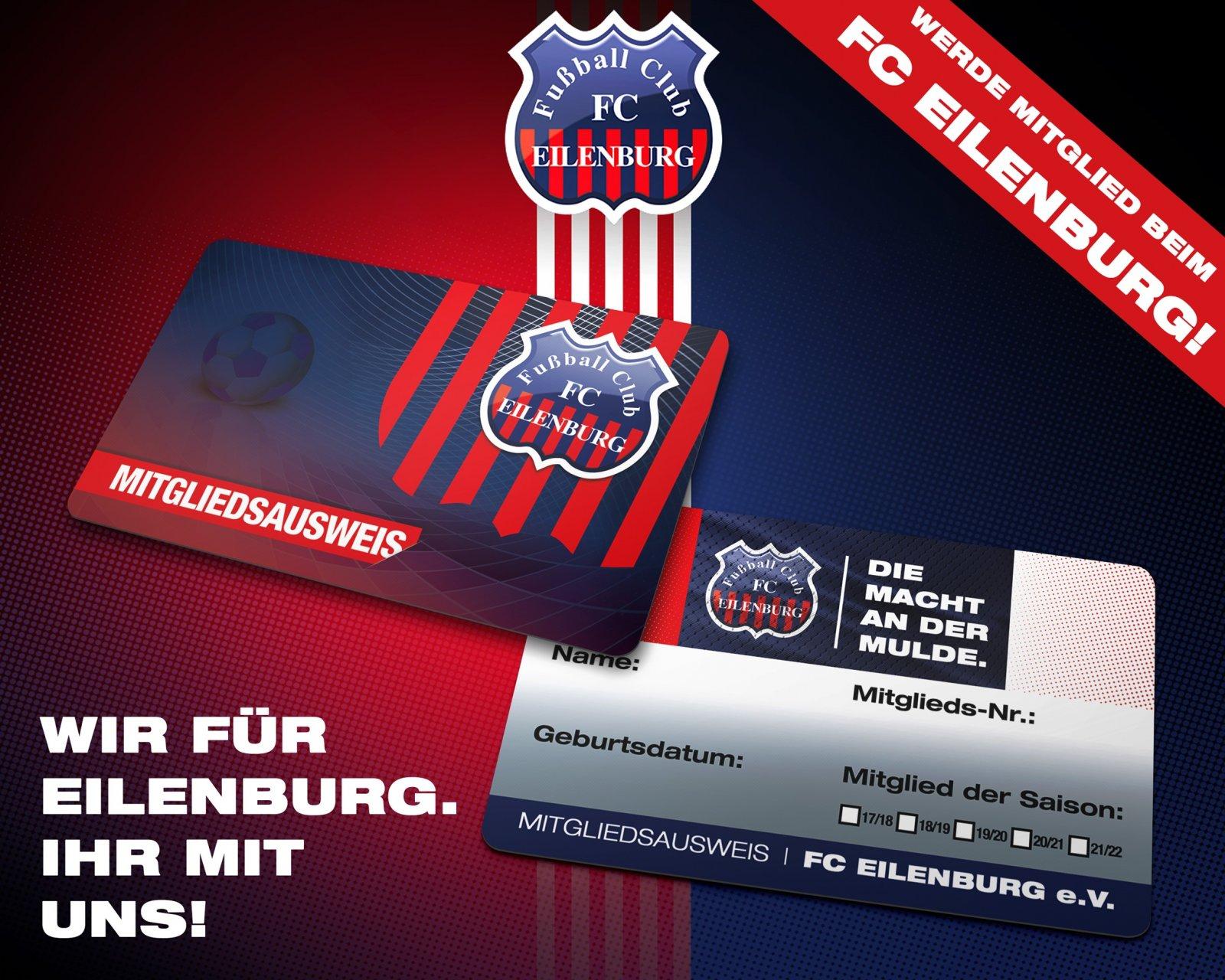 Mitgliedskarte FC EIlenburg