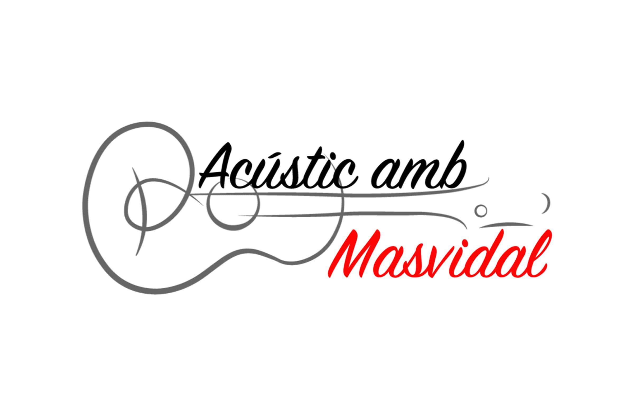 """Logotipo del proyecto """"Acústics amb Masvidal"""""""