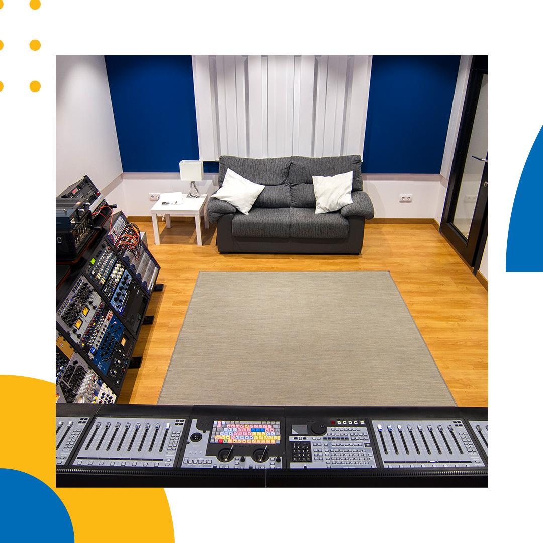 Imagen de nuestro estudio de grabación
