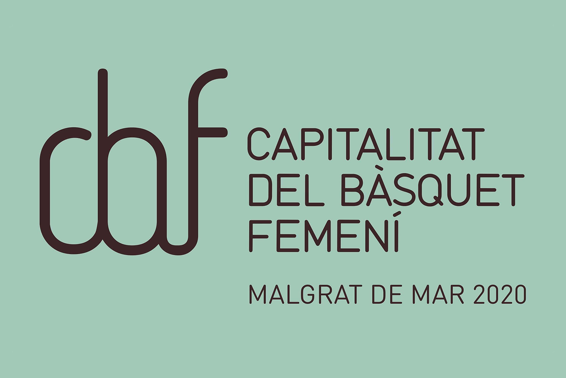 """Logotipo de """"La capitalitat del Basquet femení"""""""