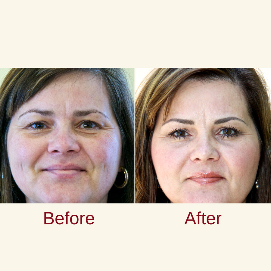 Permanent makeup case study
