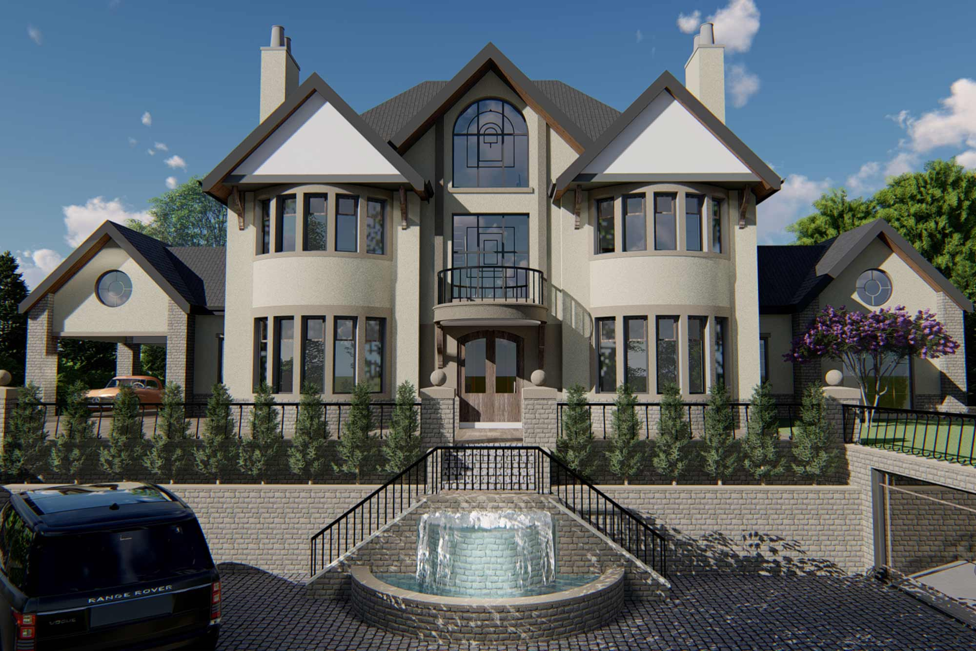 Edwardian mansion swimming pool extension, facelift and re-model in Lancaster, Lancashire