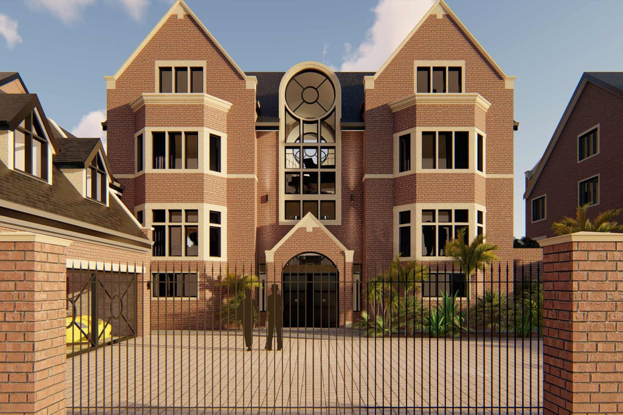 Large executive home re-model, extension and contemporary facelift in Lytham Quays, Lytham St'Annes, Lancashire