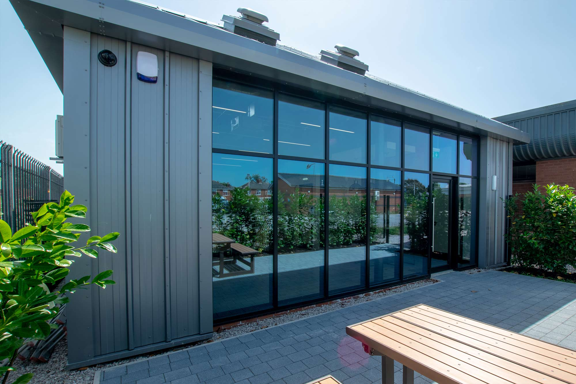 Retail showroom and warehouse architectural design in Lytham St'Annes, Lancashire