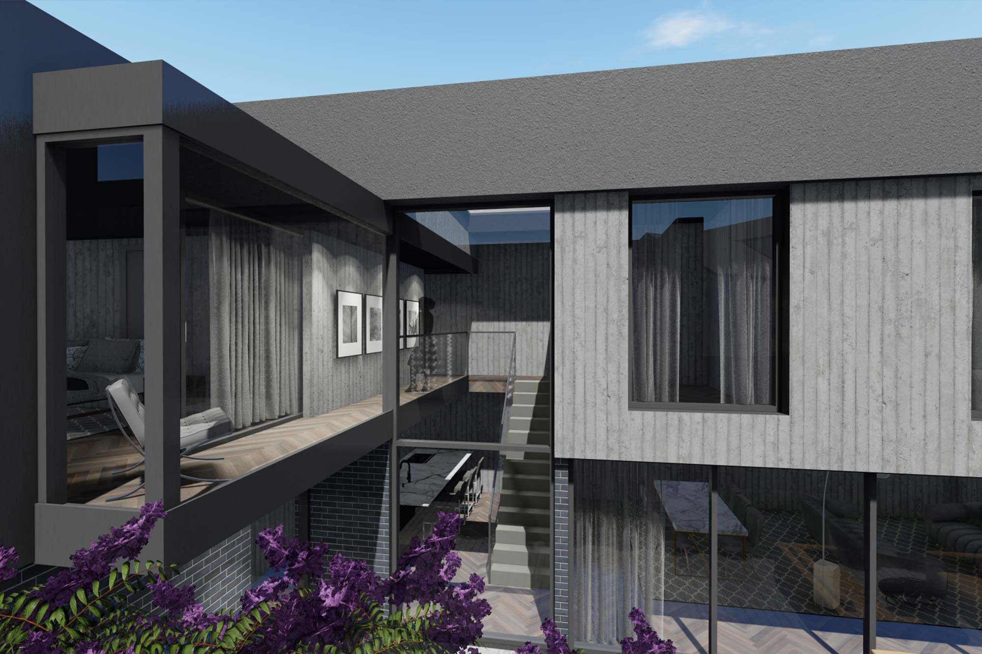 Contemporary residential development in Rossendale, Lancashire