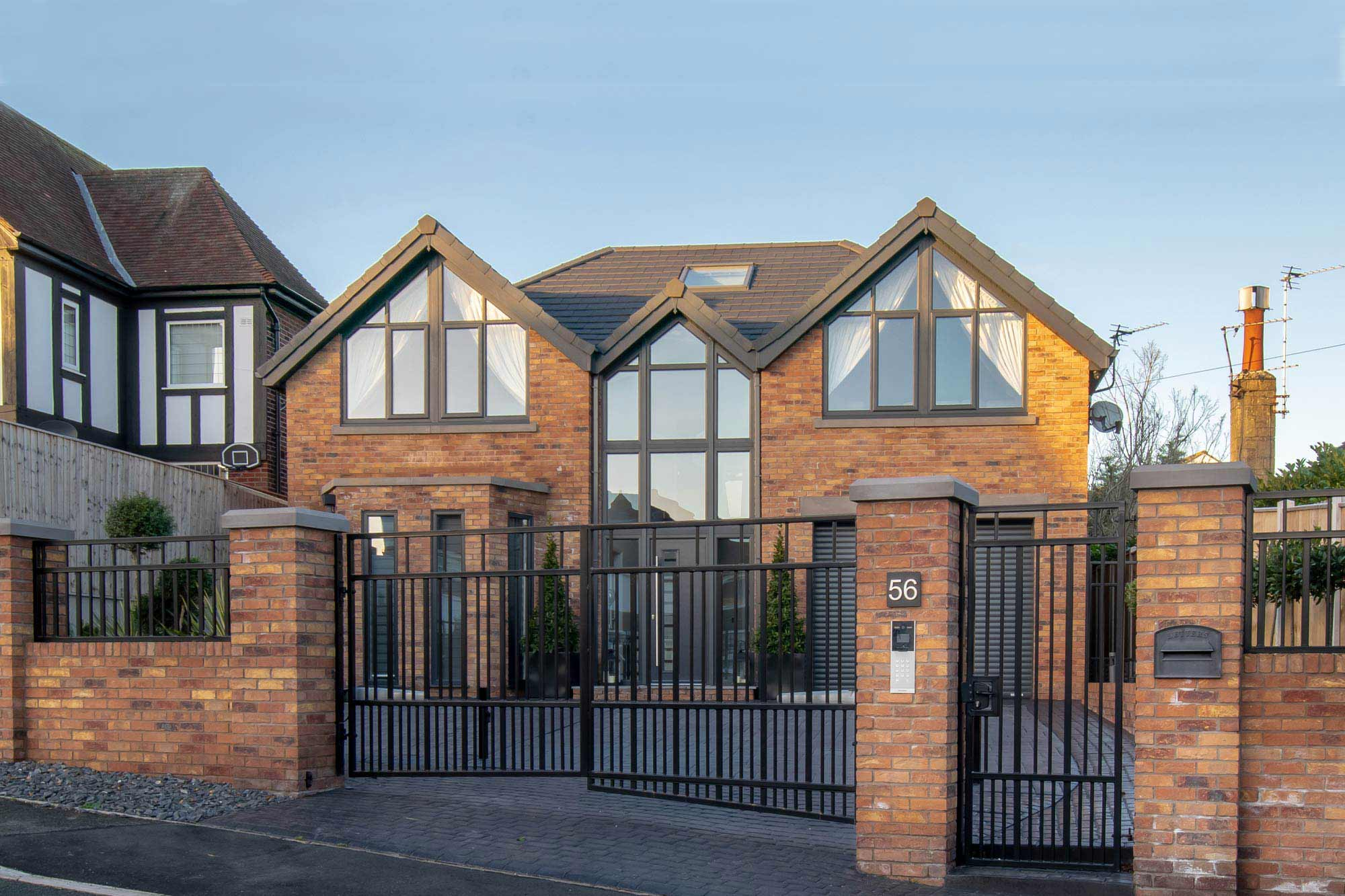 Traditional bespoke home with contemporary twist architectural design in Poulton-le-Fylde
