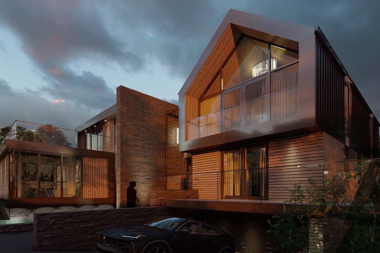 modern bespoke home