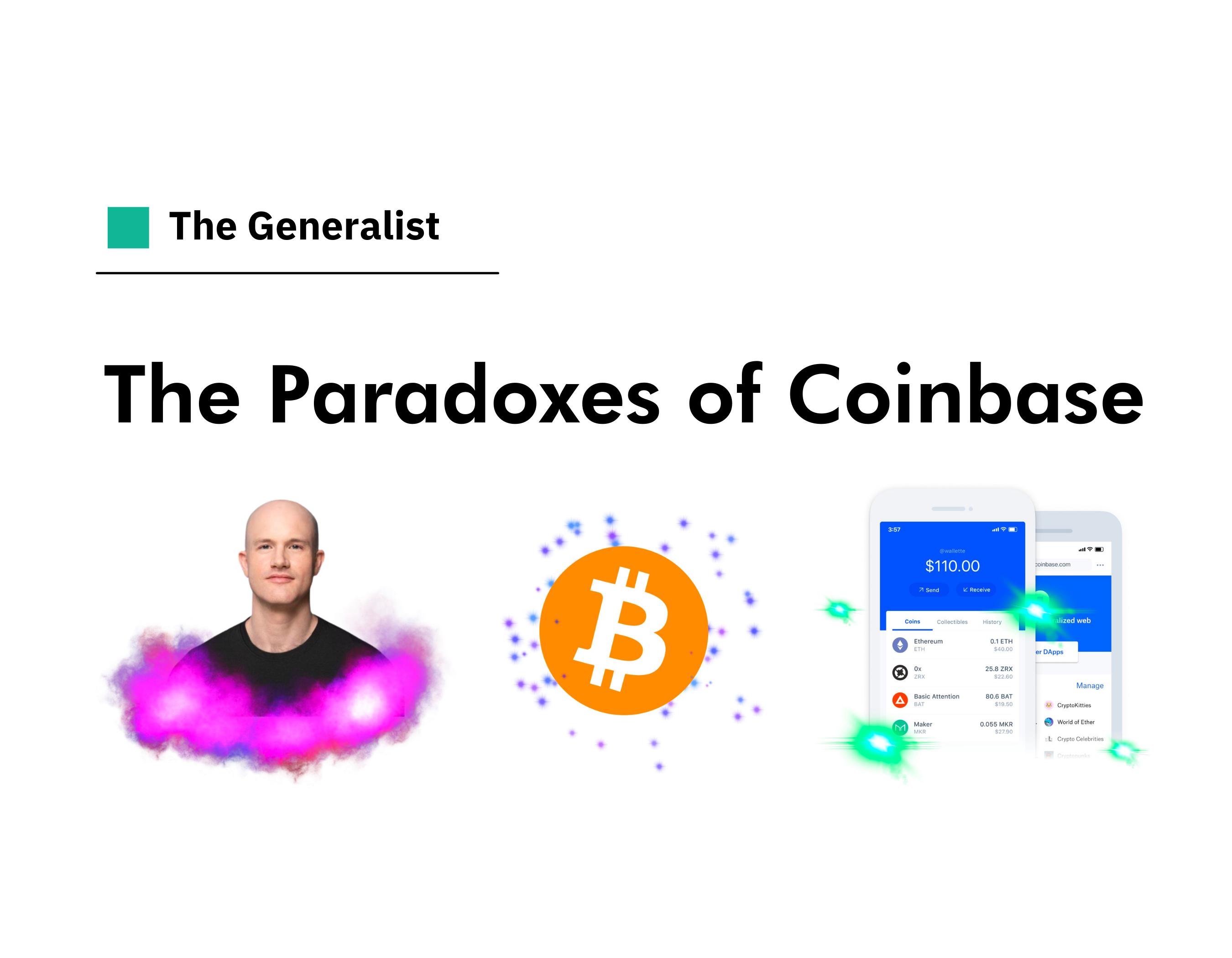 The Paradoxes of Coinbase