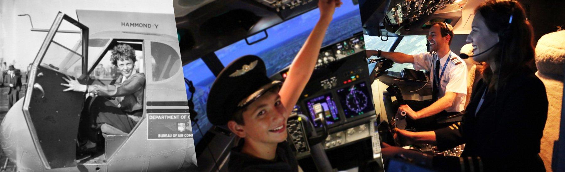 Amelia Earhart Day & Aspiring Pilots