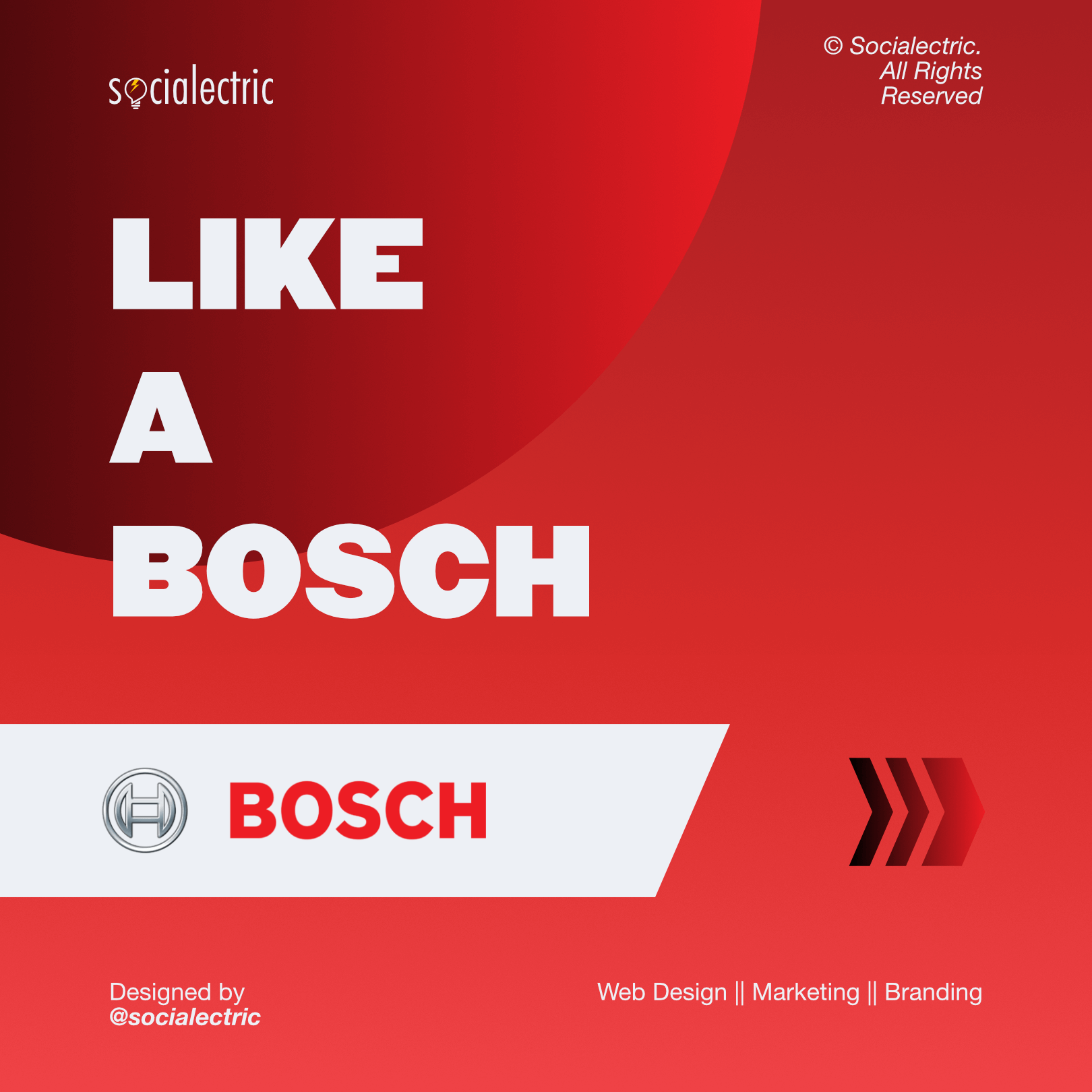 Like a Bosch Socialectric Instagram Posts