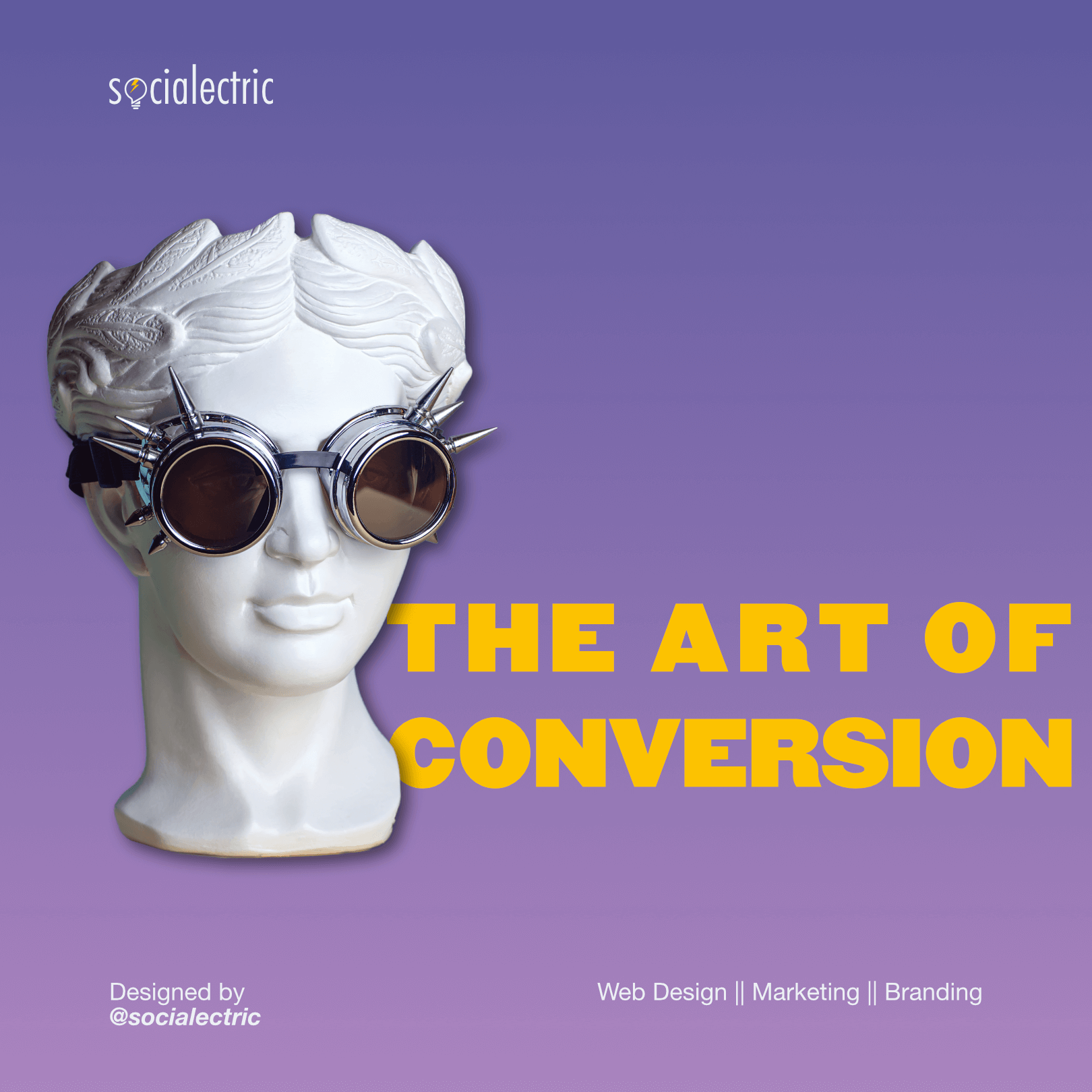 The Art of Conversion - Socialectric Instagram Posts
