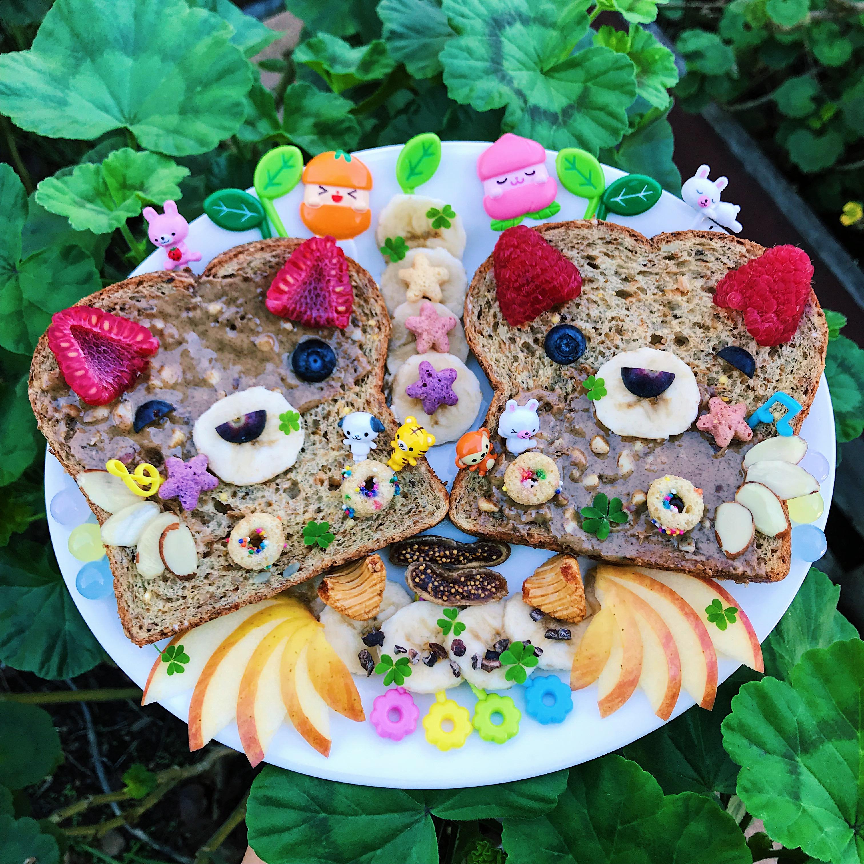 Beary Nice Panda Toast