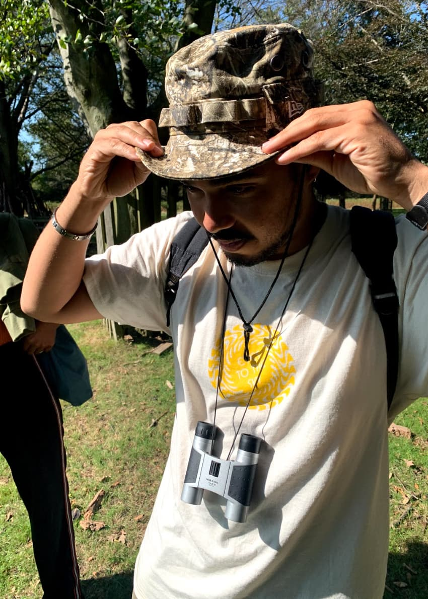 South London's Bushy Park was the location of the fifth Flock Together walk, encouraging new faces and regular birders to join the flock.