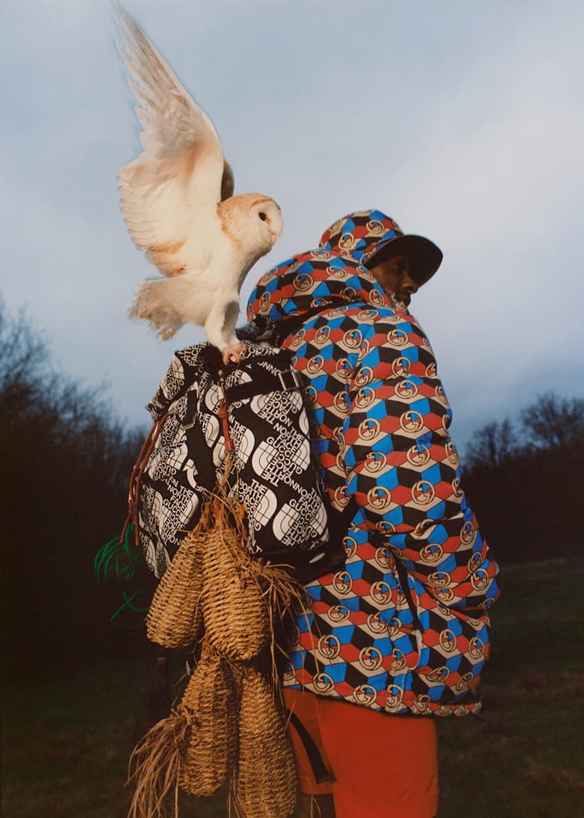 High Snobiety placed Flock Together are the centre of their latest editorial, featuring The North Face x Gucci collaboration.