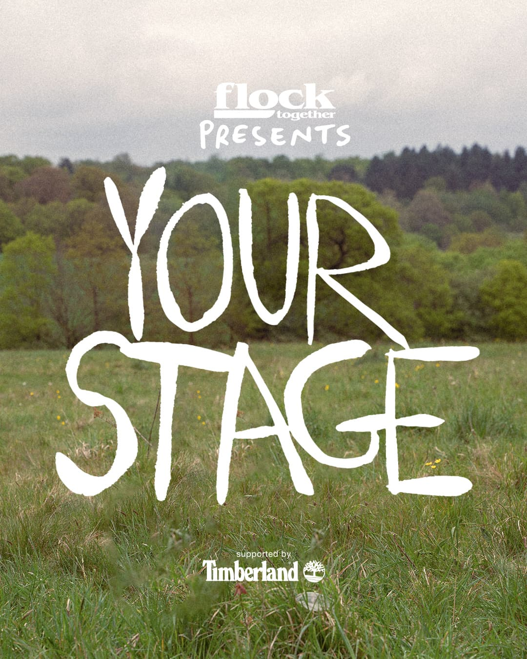 Flock Together presents 'Your Stage' supported by Timberland. Watch as four London artists explore their connection to the natural world.
