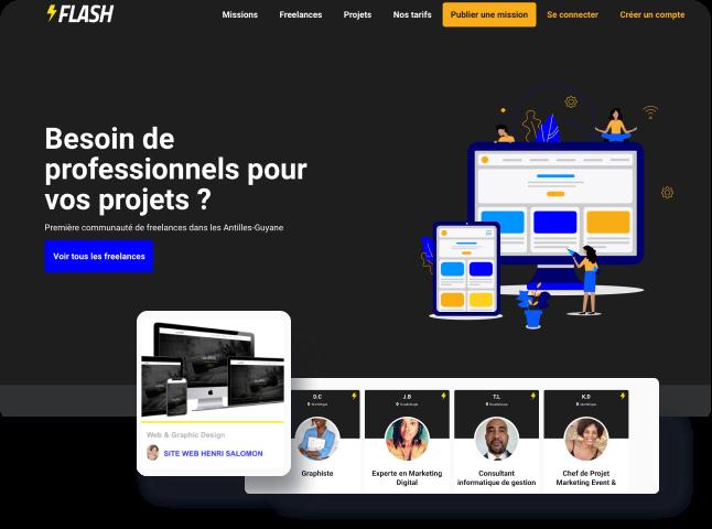 image website flash