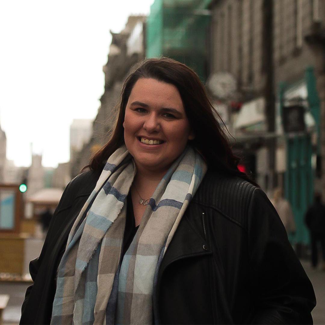 Portrait of Development Director - Kirsty Allan