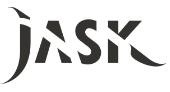 Jask hair salon logo